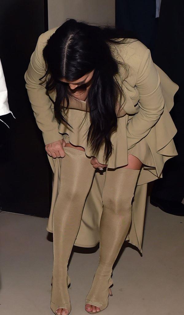 Ким Кардашьян Канье Уэст фото