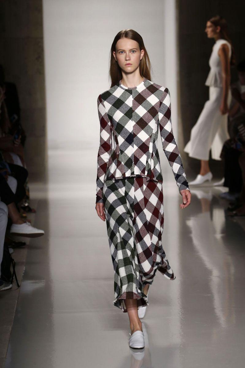 виктория бекхэм неделя моды коллекция