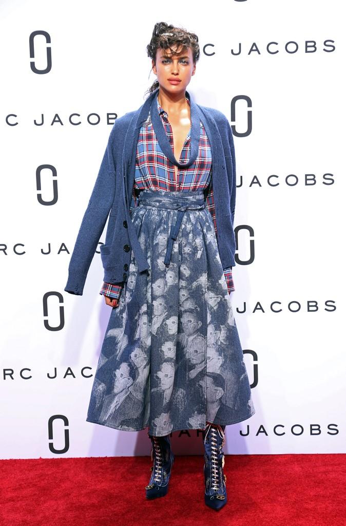 Ирина Шейк показ марк джейкобс мода весна-лето 2016