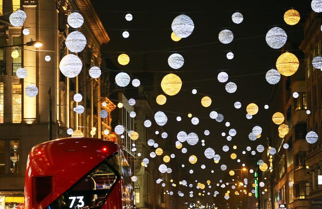 лондон рождество