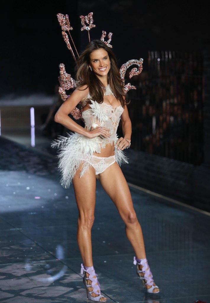 Victoria's Secret 2015 топ модели в нижнем белье красивое женское белье