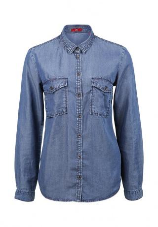 джинсовая рубашка 2015
