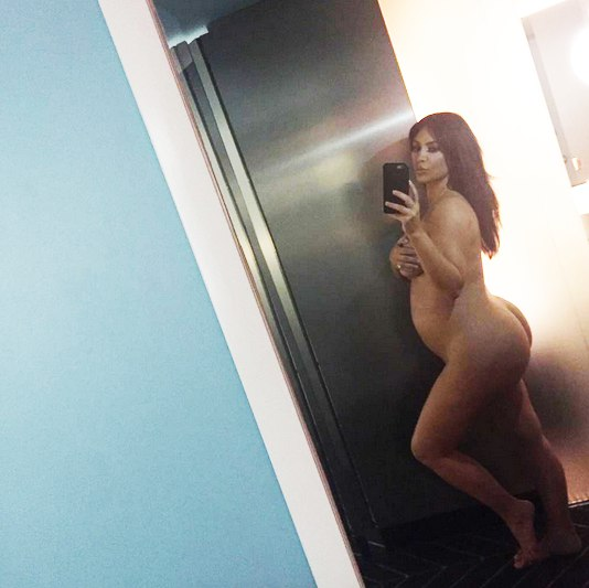 Ким Кардашьян беременна