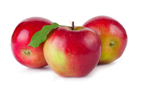 яблоко розовое