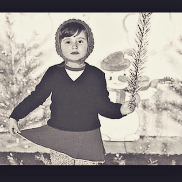 Детское фото Светланы Лободы
