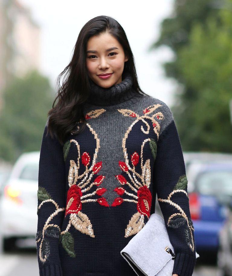 мода свитер_2014