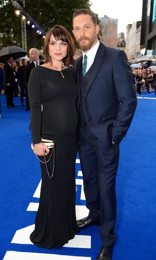 Том Харди и Шарлотта Райли стали родителями