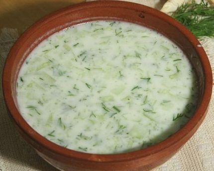 таратор болгарский суп