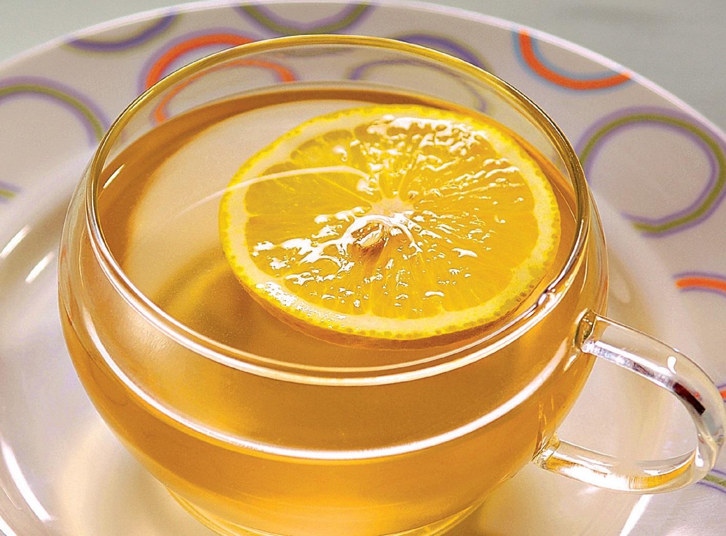 лимонно-имбирный напиок