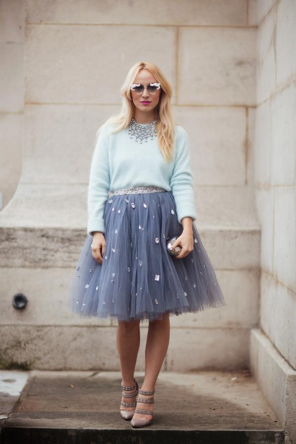 модный тренд 2015 пышная юбка 2015