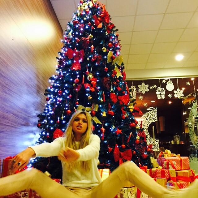 Вера Брежнева фото Новый год 2015