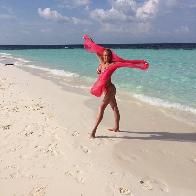 Анастасия Волочкова новое фото обнаженная в бикини