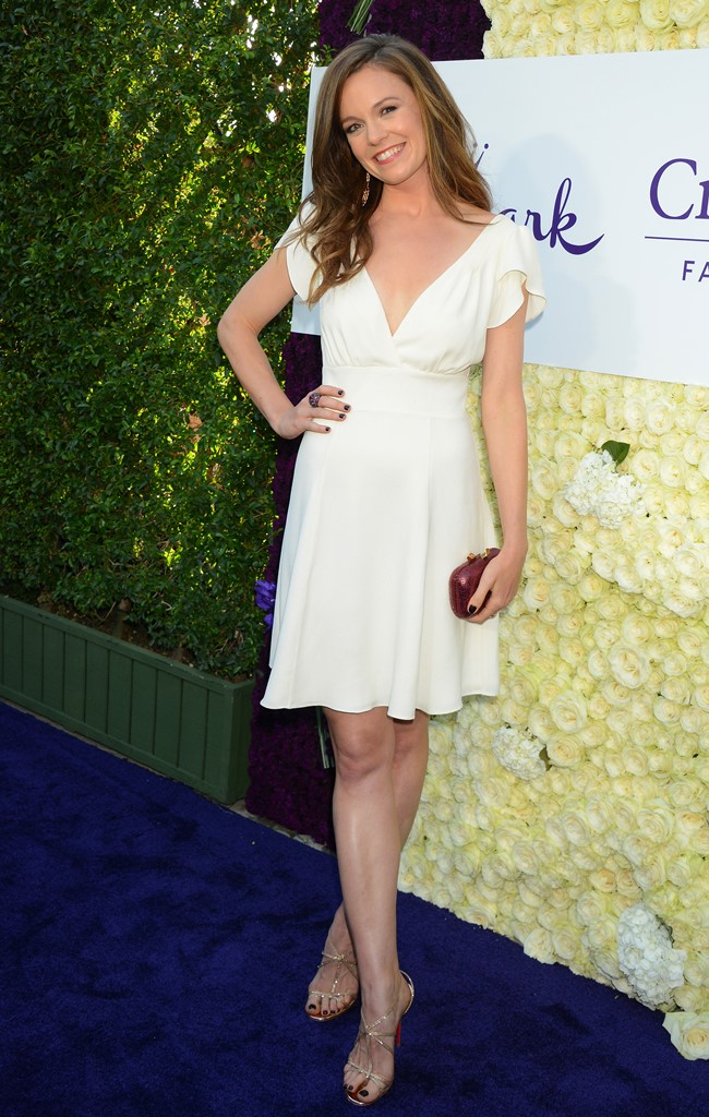 белое платье мода лето 2015
