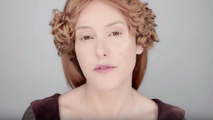 история макияжа хэллоуин 2015