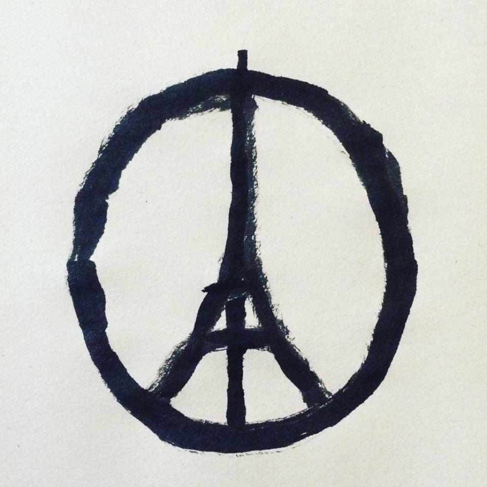 мир парижу теракты в париже