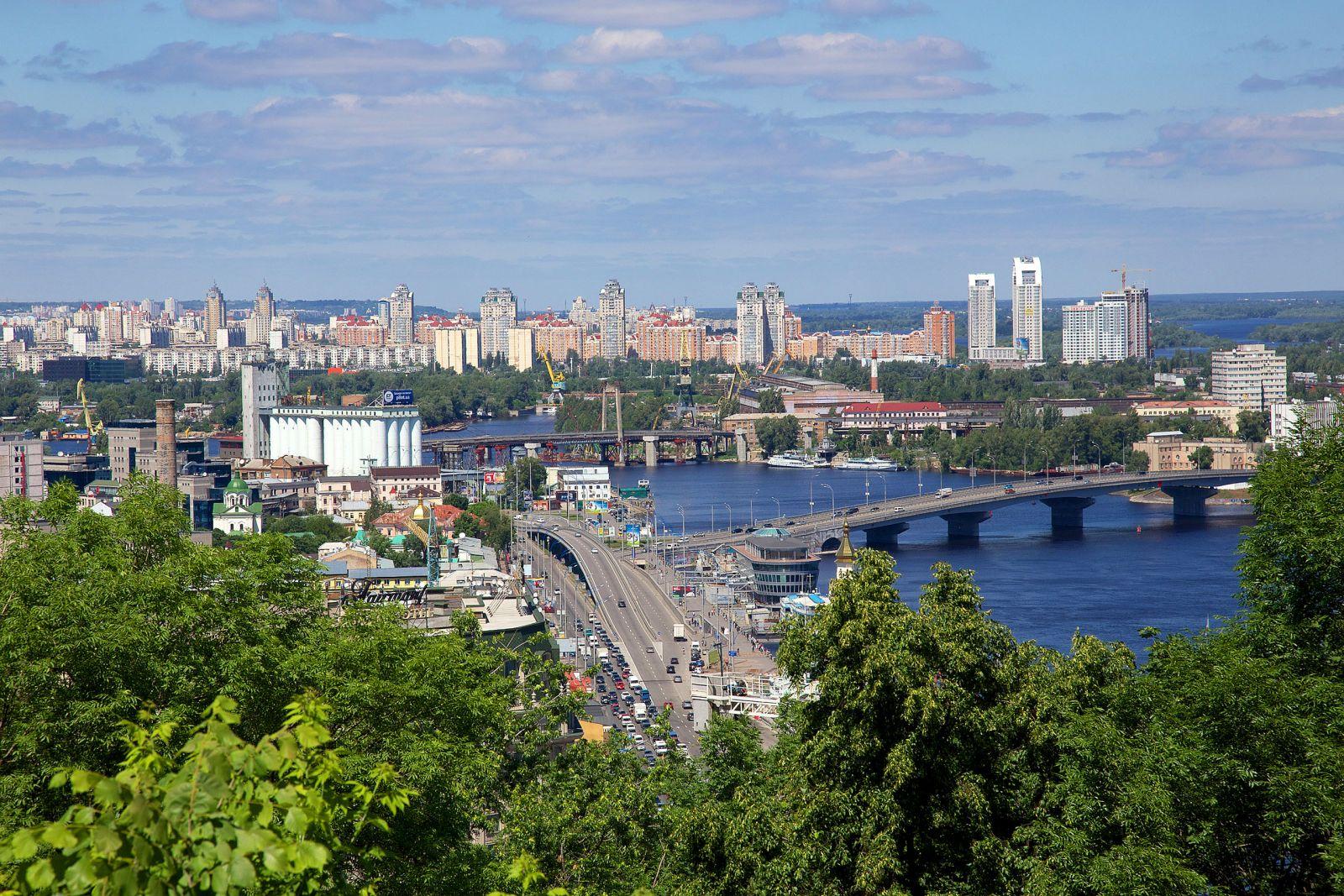 На каких улицах в Киеве перекроют движение на День Независимости 2015