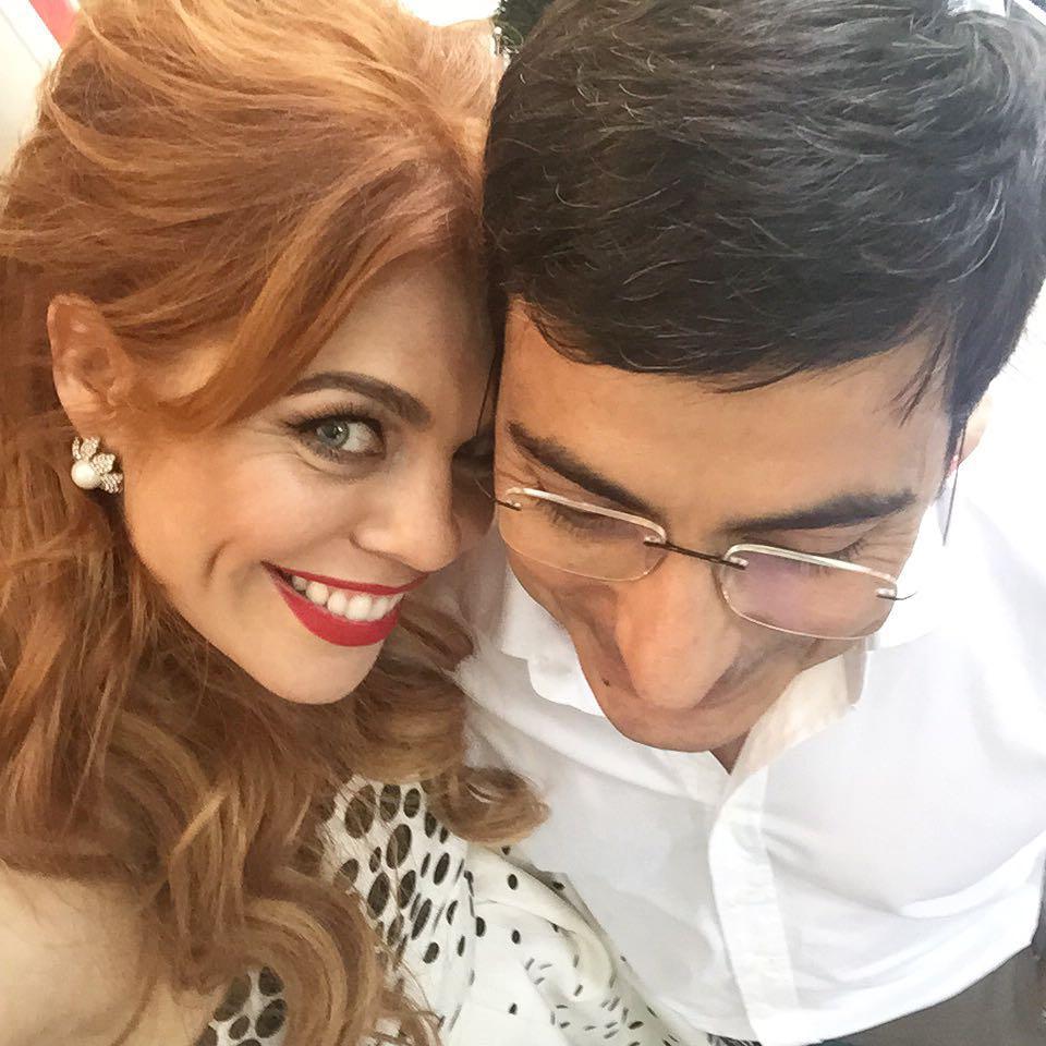 Анастасия Стоцкая с мужем