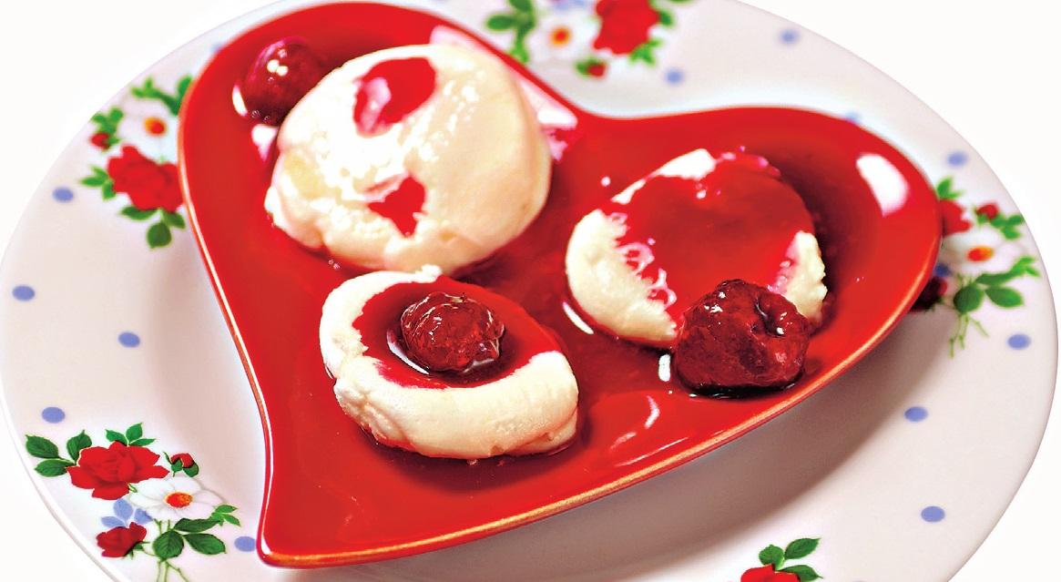 десерты с малиной полезные десерты